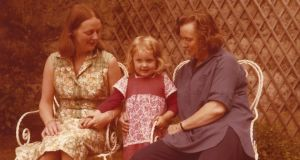 Léan, almost four years old, with her grandmother Eilís Dillon (right) and her aunt Máire, in 1978