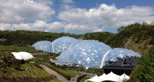 The Eden Project in Cornwall - set for a Jurassic makeover this summer