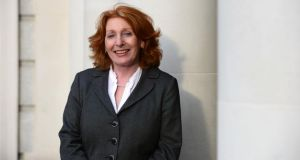 "Minister  of State Kathleen Lynch: ""It is the first step along the way to ensuring that all our citizens have GP cover.""    Photograph: Alan Betson/The Irish Times"