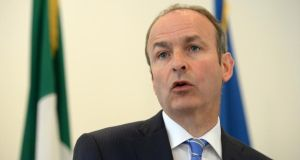 Fianna Fáil leader Micheál Martin: Party must get serious ahead of next general election. Photograph: Dara Mac Dónaill