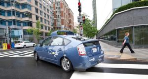 While Google's recent demonstration of a driverless car captured the imagination of some drivers, many still do not have even a basic understanding of what constitutes a connected car. Photograph: Karen Bleier/AFP/Getty Images