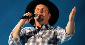Country music star Garth Brooks performs at the 48th ACM Awards in Las Vegas in in April 2013. Photograph: Mario Anzuoni/Reuters