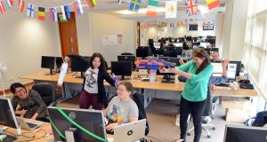 Making a success of making websites - Squarespace dublin office ...