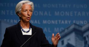 "Christine Lagarde: ""Potential growth is weaker [and] investment remains lacklustre."" Photograph: Reuters"