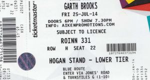 Garth Brooks tickets for Friday, July 25th next. Photograph: Collins Photos