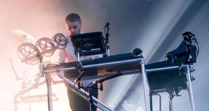 Disclosure perform on the Main Stage at Longitude Fesitval at Marley Park. Photograph: Allen Kiely.