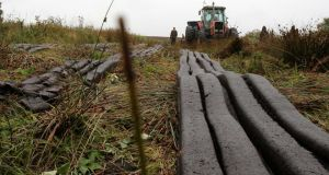 The compensation payments have been  made to turf-cutters who were required to cease cutting on 53 raised bogs as special areas of conservation under the EU habitats directive. Photograph:  Hany Marzouk
