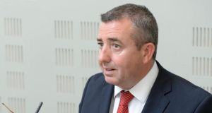 "Ciarán Lynch: ""The issue of cost is one that the inquiry team is very conscious of and it has been dealt with at every meeting to date."" Photograph: Dara Mac Dónaill"
