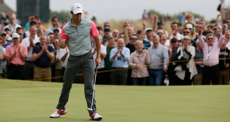 Rory McIlroy wins the British Open
