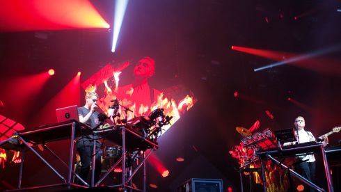 Disclosure at Longitude. Photograph: Kieran Frost