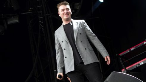Sam Smith was delighted with the crowds at Longitude 2014 Photograph: Kieran Frost