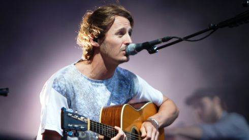 Ben Howard at Longitude.  Photograph: Kieran Frost