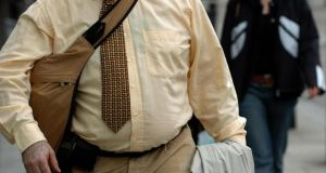 The Irish Longitudinal Study on Ageing showed that almost 80 per cent of Irish people over 50 are either obese or overweight – nature or nurture? Photograph: Press Association.
