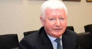 "Frank Flannery tells the summer school  it is ""increasingly"" the destiny of Fine Gael and Fianna Fáil to come together. Photograph: Eric Luke / The Irish Times"