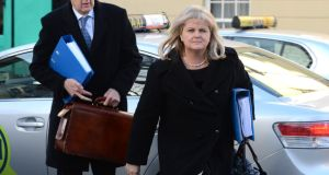 "Angela Kerins (right), former Rehab Group chief: The PAC, her counsel said, had ""acted beyond its remit"". Photograph: Eric Luke/The Irish Times"