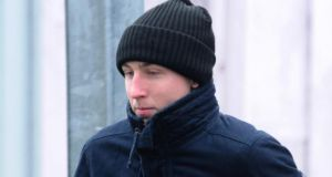 Shaun Kelly who pleaded guilty at court in Letterkenny,Co Donegal today. File photograph: TrevorMcBride