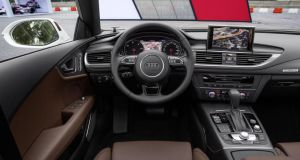 Inside the new Audi A7 cockpit