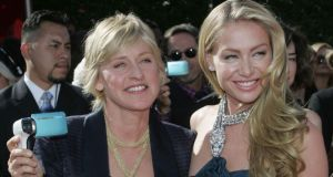Ellen DeGeneres and Portia de Rossi flip their LA mansion and make a $15 million profit. Photograph: Los Angeles Times /Spencer Weiner