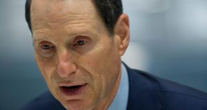 Senator Ron Wyden, a Democrat from Oregon, said tax inversion deals were latest 'virus' in US tax system. Photographer: Victor J. Blue/Bloomberg