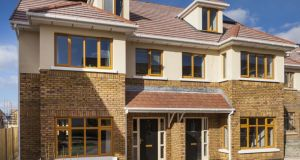 New houses: Stocking Wood in Rathfarnham, which was one of the top selling locations in Dublin