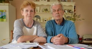 Violet and Martin Coyne were  ordered to leave their home by March 2013. Photograph: Alan Betson / The Irish Times