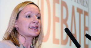 Former minister for European affairs Lucinda Creighton. Photograph: Dave Meehan/The Irish Times