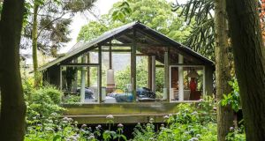 The Pool Hoose by Peter McLaren from Fife, a finalist in the Eco category of the 2014 Shed of the Year competition sponsored by Cuprinol. The shed has been selected from over 2,000 entries by more than 20,000 public votes.