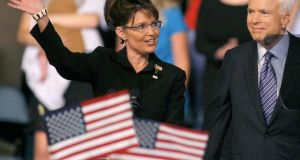 Sarah Palin. photograph: reuters/matt sullivan