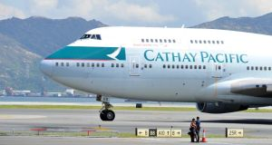 Cathay Pacific has been voted the world's best airline in the Skytrax World Airline Awards. Photograph: Getty Images