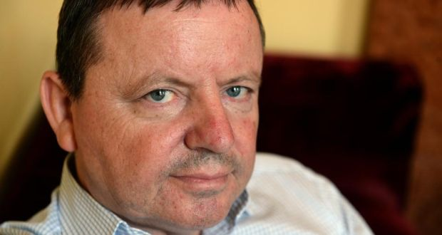 Brendan Boland who has written the  book  Sworn to Silence. Photograph: Cyril Byrne / The Irish TImes