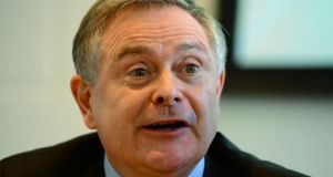 "Minister for Public Expenditure and Reform Brendan  Howlin said the adjustment required to achieve a 3 per cent budget deficit next year would ""certainly"" not include €2 billion in cuts. Photograph: Frank Miller / THE IRISH TIMES"