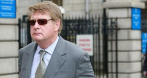 Solicitor Brian O'Donnell leaving the Four Courts this week. Photograph: Collins Courts