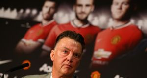 "Louis van Gaal:  ""Maybe it is too big a club. Not only in a sporting sense but also commercially. We have to do a lot of things that normally I don't allow. I have to adapt to this big club but I think also this big club has to adapt to Louis van Gaal. Photo:  Clive Mason/Getty"