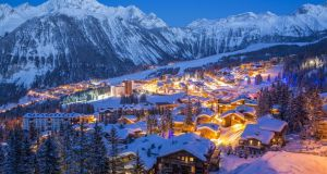 Courchevel ski resort in the French Alps, where Ice Mountain bought two hotels.