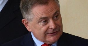 Minister for Public Expenditure and Reform Brendan Howlin who said health spending by the Government has remained almost unchanged since 2011, and was down just €19 million. Photograph: Cyril Byrne/The Irish Times