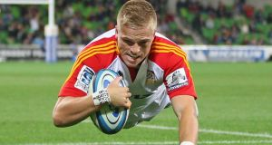 Gareth Anscombe will be joining Cardiff Blues next season. The son of sacked Ulster coach Mark called Ulster's management 'clowns'. Photograph: Scott Barbour/Getty Images
