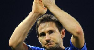 Former Chelsea captain, Frank Lampard has completed his move to New York City FC. Photograph.  Martin Rickett/PA Wire.