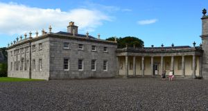 The restored West Wing at Russborough House, Blessington, Co. Wicklow. Photograph: Eric Luke / THE IRISH TIMES