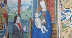 Detail from the 15th-century Flemish 'Book of Hours'