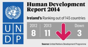 The 2014 UN Human Development report calls for a commitment to full employment, which it says brings social benefits.