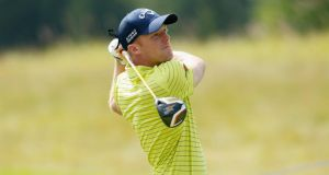 David Horsey of England: birdie at par-four first set the tone for opening round. Photograph:  Harry Engels/Getty Images