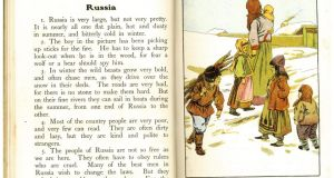 A page from 'Little Folk in Many Lands' (1910)