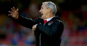 "Cork City manager John Caulfield: ""Bohs have drawn with all of the top teams . . . they've upped their game in the big games."" Photograph: Ryan Byrne/Inpho"