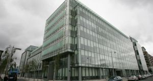 Dublin law firm Matheson  on Sir John Rogerson's Quay. A series of European law firms are aggressively pitching low corporate taxes in their countries to prospective US clients.