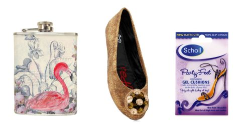 Flamingo hip flask €18.99 theelms.ie