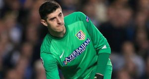 Thibaut Courtois, the Atletico Madrid goalkeeper  will challenge Petr Cech for the Blues' number one jersey this season. Photograph:  Nick Potts/PA Wire