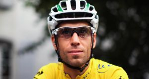 Vincenzo Nibali of Italy and Astana Pro Team looks set to win the Tour de France on Sunday.   Photograph:   Bryn Lennon/Getty Images