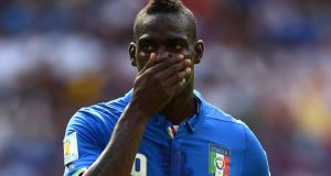 "Mario Balotelli of Italy has often been in the firing line from ""ultra"" fans who target the international with foul-mouthed racist invective. Photograph:  Laurence Griffiths/Getty Images"