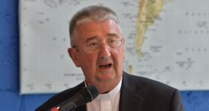 "Archbishop Diarmuid Martin: ""enthused by the realism of Pope Francis"". Photograph: Alan Betson"