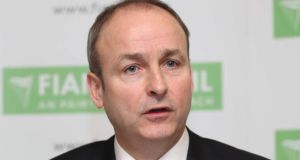 Fianna Fáil leader Micheál Martin wants selection conventions to begin in October to allow candidates as much time as possible to establish themselves before the next election. Photograph: Sasko Lazarov/Photocall Ireland